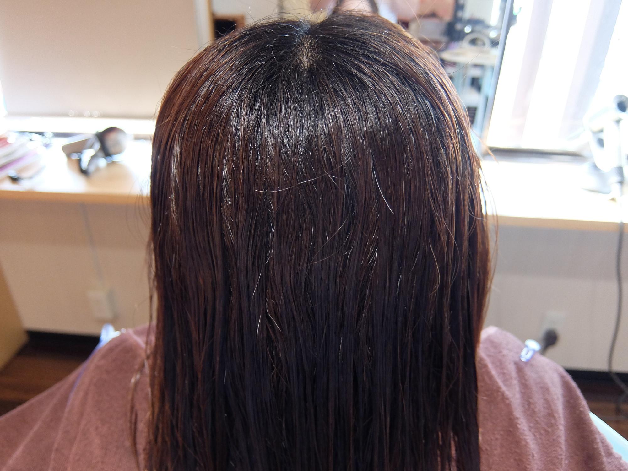 エイジング毛に対する縮毛矯正の考え方