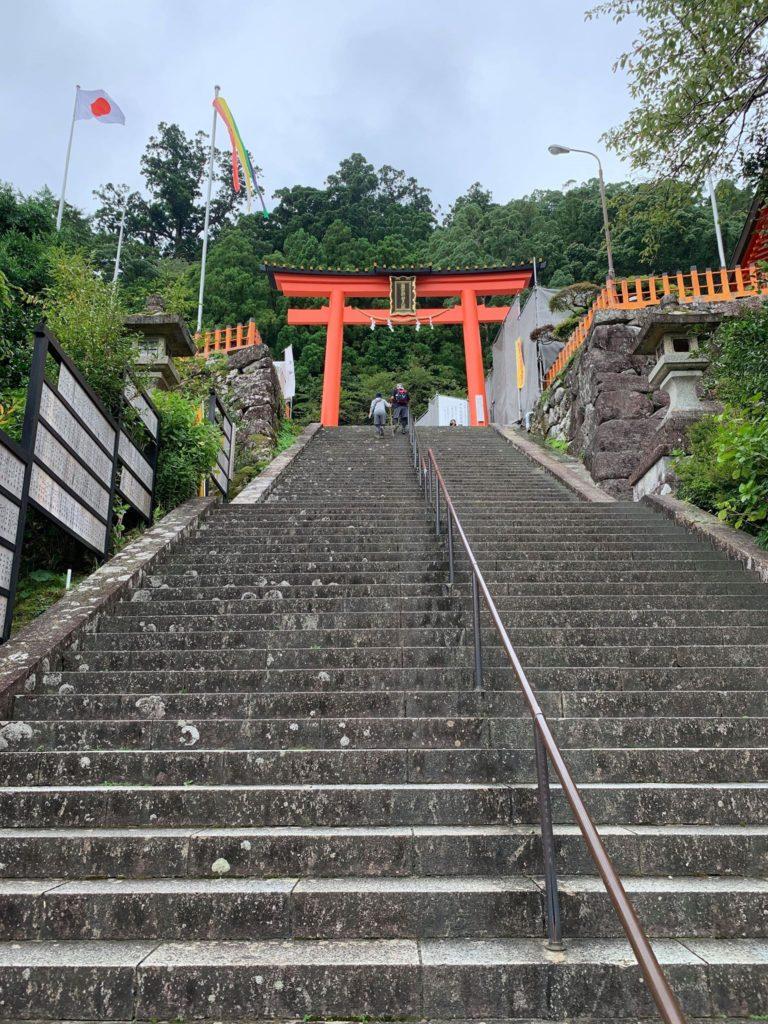 昨日は日帰りで太市町と那智勝浦へ行ってきました
