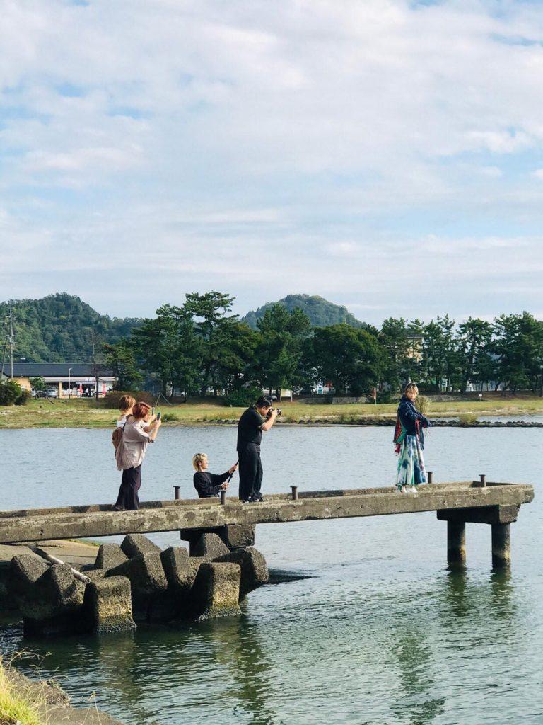 彦根市にて琵琶湖撮影会やってました・津市の美容室・美容院siesta/シエスタ