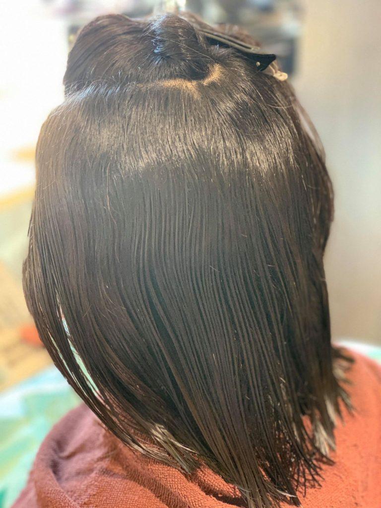 【津市・縮毛矯正】15年来の強癖毛のお客様施術事例