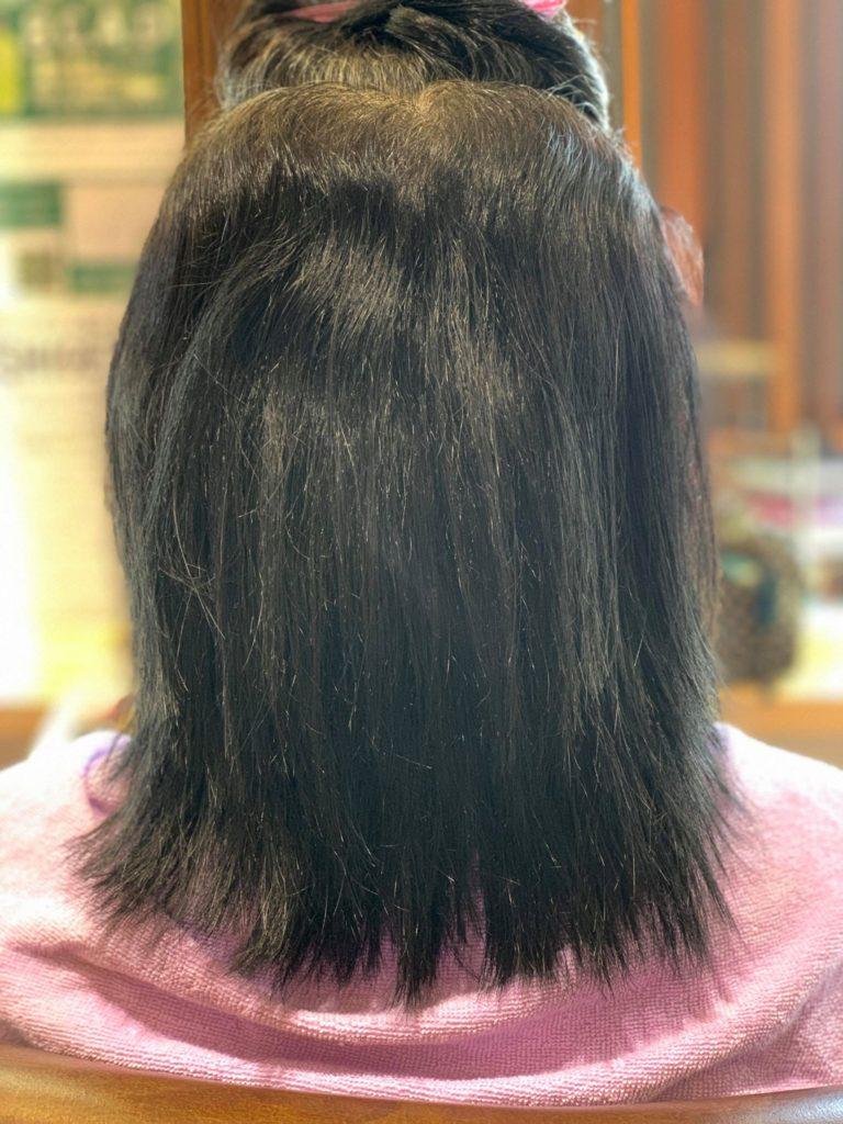 【津市・縮毛矯正・ストレート】ヘナ毛+強癖の髪の毛への縮毛矯正アプローチ【三重県・美容院・美容室】