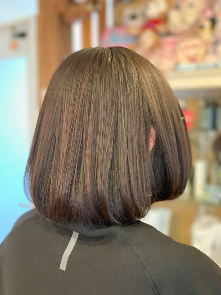 【津市・縮毛矯正・ストレート】ビビり毛に対して酸熱トリートメントを行いました!【三重県・美容院・美容室】