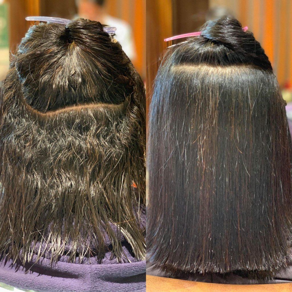 【津市・縮毛矯正・ストレート】髪質改善ヘアエステと呼ばれていた縮毛矯正がパワーアップしヒト肝細胞配合になりました!【三重県・美容院・美容室】