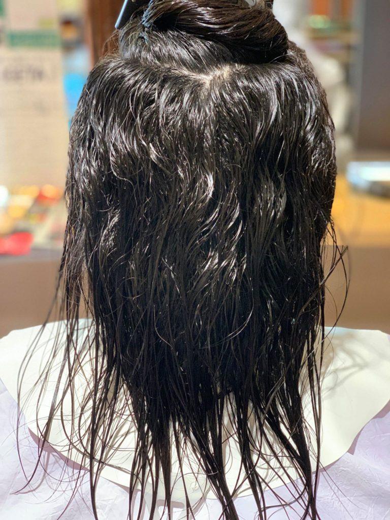 【津市・縮毛矯正・ストレート】ヒト肝細胞縮毛矯正のお客様への施術例【三重県・美容院・美容室】